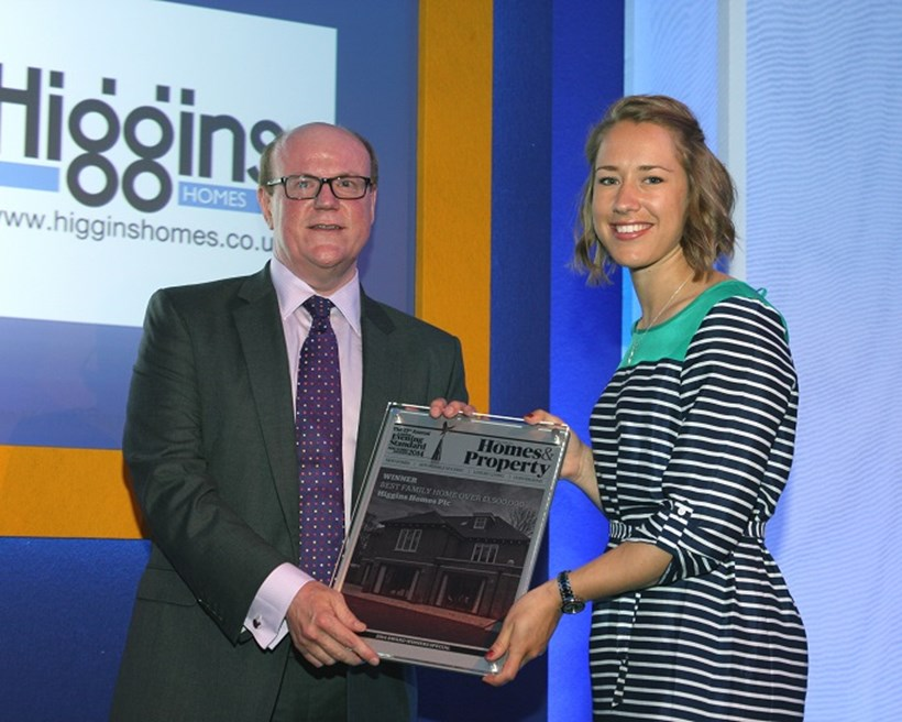 award win at Evening standard awards