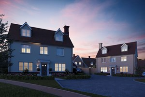 The Maldon - 5 bedroom house - dusk view