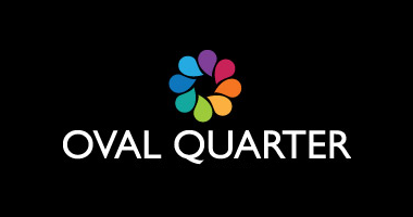 Oval quarter logo